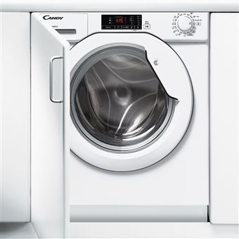 Máquina de Lavar Roupa Encastrável Candy CBWM 712D-S 7Kg A+++ Branco