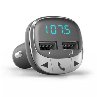 Energy Sistem 44826 transmissor FM 87,5 - 108 MHz Bluetooth Preto, Prateado