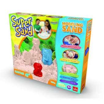 Areia Modeladora Goliath 83225 SuperSand Safari