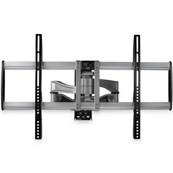 """StarTech.com FPWARPS suporte de parede de ecrãs planos 190,5 cm (75"""") Preto, Prateado"""