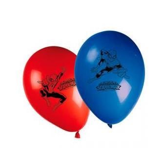 Conjunto 8 Balões Festa Homem Aranha Marvel Ultimate Sortido