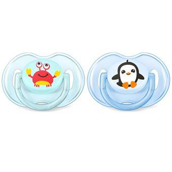 Chupeta para bebé philips avent scf169/35 chupeta clássica para bebé silicone cor