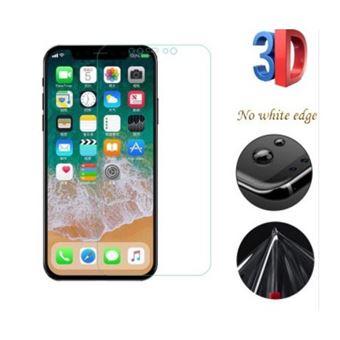 Película de Protecção de Ecrã Lmobile Full Cover em Gel / TPU para iPhone X