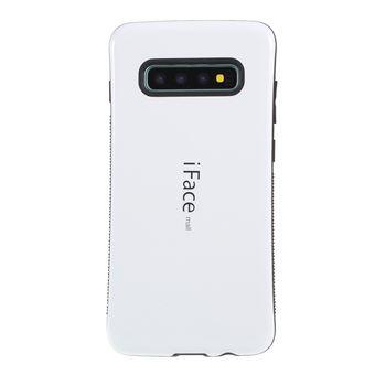 Capa TPU Magunivers híbrido branco para Samsung Galaxy S10