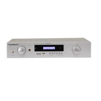 Amplificador de áudio MADISON MAD1400BT-WH Casa Com fios e sem fios Branco