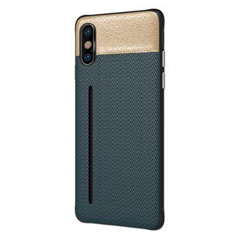 Capa Bicolor WISETONY para Apple iPhone 7 / 8 Azul e Dourado