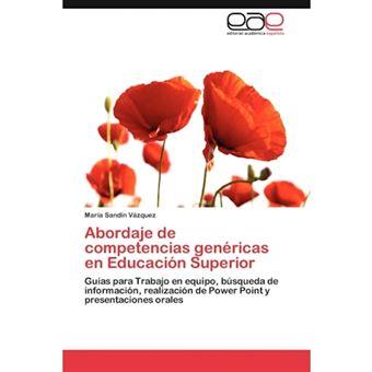 Abordaje de Competencias Genericas En Educacion Superior - Paperback / softback - 2012