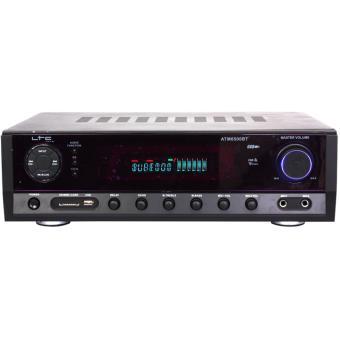 Amplificador de áudio Lotronic 10-7053 Com fios e sem fios Preto