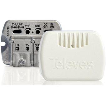 Amplificador de Apartamento Televes 2S TV V/U