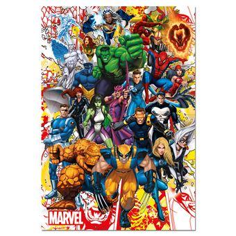 Puzzle Marvel Hero Educa 15560 500 Peças