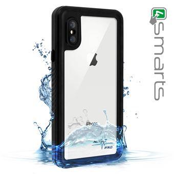 Capa 4Smarts para iPhone X / Xs Protetora e Impermeável Transparente