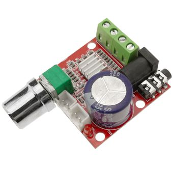 Amplificador de Áudio BeMatik10W + 10W, classe D2, DIY, DC12V. Modelo DW-0183