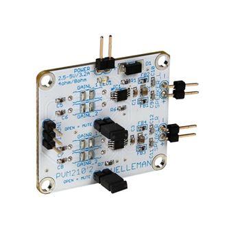 Amplificador de Áudio Velleman Classe D Estéreo 2.8 W