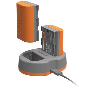 Hahnel CANON HLX-E6N POWER KIT Cinzento, Laranja Outdoor battery charger