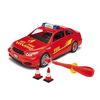 Revell Fire Chief Plástico brinquedo sobre rodas Vermelho
