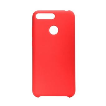 Capa Silicone Forcell para Huawei Y7 2019 Vermelha