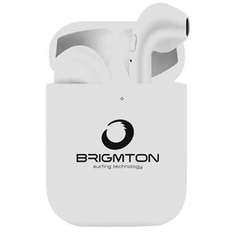 Auriculares Brigmton BML-18-B Branco