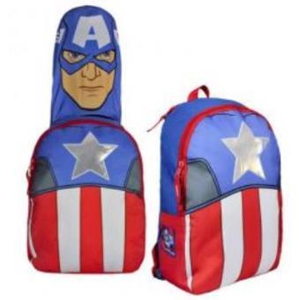 Mochila com Capuz Marvel Capitão América Vingadores