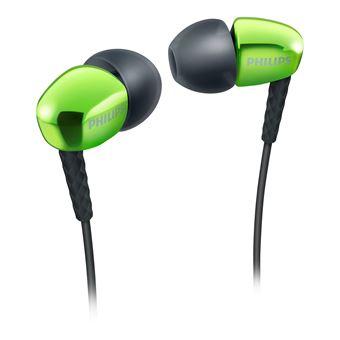 Auriculares Philips Fone de ouvido intra-auricular SHE3900GN/00 Verde