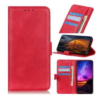 Capa Magunivers | PU + TPU com apoio Vermelho para Xiaomi Mi Note 10/Mi CC9 Pro