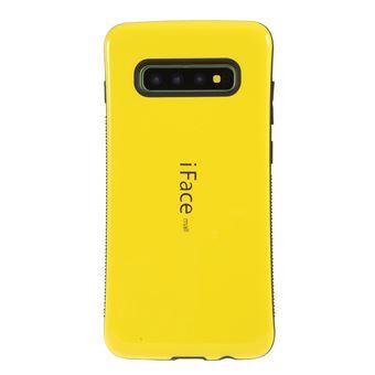 Capa TPU Magunivers híbrido amarelo para Samsung Galaxy S10