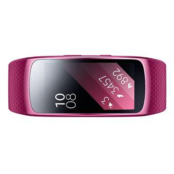 "Samsung Gear Fit2 Rastreador de atividade para pulso Rosa IP68 SAMOLED 3,81 cm (1.5"""")"