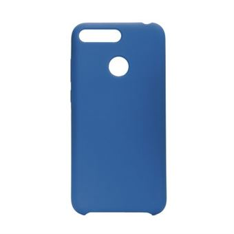 Capa Silicone Forcell para Huawei Y7 2019 Azul