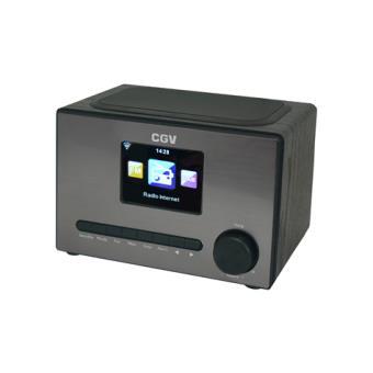 r dio cgv dr20i rel gio analog digital cinzento r dio despertador compra na. Black Bedroom Furniture Sets. Home Design Ideas