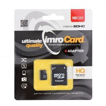 Cartão Memória Imro MicroSD 16GB