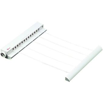 Metaltex 8002524063259 prateleira de secar roupa Wall-mounted rack White
