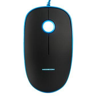 Rato com Fios Modecom MC-M111  Azul
