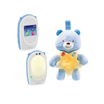 Intercomunicador Chicco Goodnight Friend Azul, Branco, Amarelo