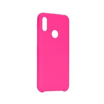 Capa Silicone Forcell para Huawei Y7 2019 Rosa Choque