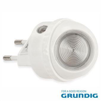 Luz De Presença Grundig 1 Led Branco 0.4W Rotação 360º 230V