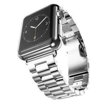 0c4430a40e7 Pulseira de Metal Magunivers Prata para Apple Watch Series 3 2 1 42Mm -  Bracelete Relógio - Compra na Fnac.pt