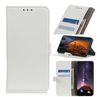 Capa Magunivers | PU + TPU superfície de lichia Branco para Xiaomi Mi Note 10/Mi CC9 Pro
