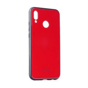 Capa Glass Forcell para Huawei P20 Lite Vermelha