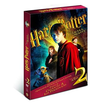 Harry Potter and the Chamber of Secrets (Harry Potter 2) (Book) / Harry Potter y la Camara Secreta (2DVD)