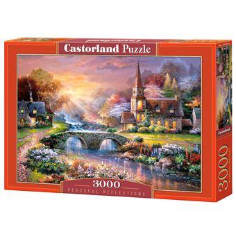 Puzzle Castorland Peaceful reflections 3000 pcs 3000peça(s)