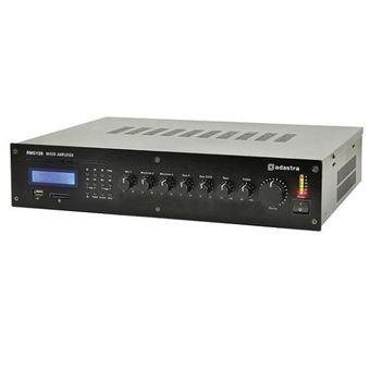 Amplificador de Linha 100V Adastra 5 Canais com Fonte de Som Integral