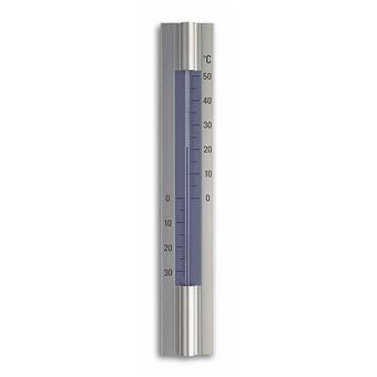 TFA-Dostmann 12.2045 termómetro ambiental Indoor/ outdoor Termómetro de ambiente líquido Azul, Prateado
