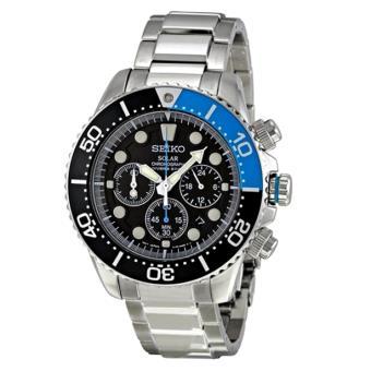 ca239f09c96 Relógio Seiko SSC017P1 C.SOLAR Preto   Azul - Outros Relógios - Compra na  Fnac.pt