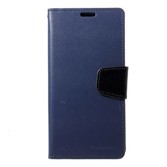 Capa Magunivers PU diário de sonata azul escuro para Samsung Galaxy S10