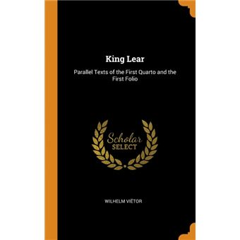 king Lear Hardcover