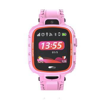 Smartwatch Infantil PRIXTON G300 | GPS | 10 Contactos + Chamadas SOS - Cor-de-Rosa