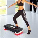 Step Fitness HOMCOM Plástico | 68x29 cm