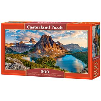 Puzzle Castorland Assiniboine Sunset, Banff National Park, Canada 600 pcs 600peça(s)