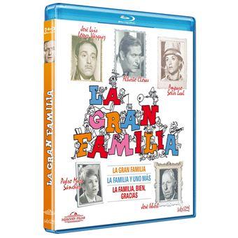 La gran familia (1, 2 y 3) (Blu-ray)