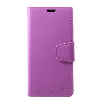 Capa Magunivers PU diário de sonata roxo para Samsung Galaxy S10