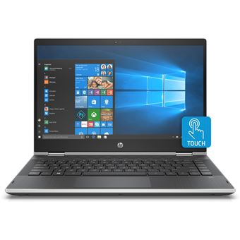 "Portátil Híbrido HP 14-cd1027nb 14 i5 6GB 14"""" Cinzento"